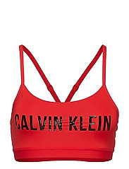 LOW SUPPO SPORTS BRA - HIGH RISK RED