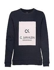 Calvin Klein Performance PULLOVER - NIGHT SKY