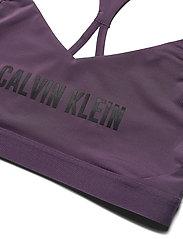 Calvin Klein Performance - LOW SUPPORT BRA - sport bras: low - vintage violet - 2