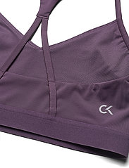 Calvin Klein Performance - LOW SUPPORT BRA - sport bras: low - vintage violet - 3