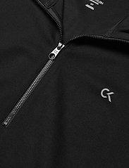 Calvin Klein Performance - 1/4 ZIP PULLOVER - crop tops - ck black - 2