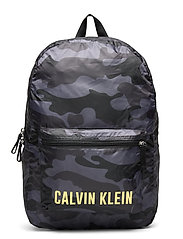 BACKPACK 45cm - BLACK CAMO
