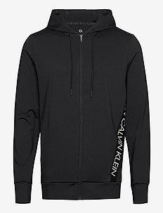 FZ HOODIE - basic sweatshirts - ck black