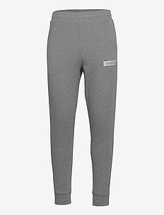 KNIT PANTS - treenihousut - medium grey heather