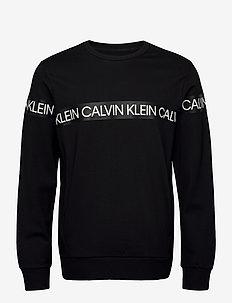 PULLOVER - sweatshirts - ck black