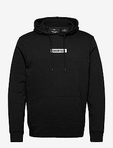 HOODIE - podstawowe bluzy - ck black/bright white