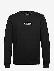 PULLOVER - bluzki z długim rękawem - ck black