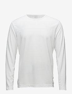 LS TEE - longsleeved tops - bright white