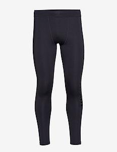 FULL LENGTH TIGHT LOGO LEG - GUNMETAL/CK BLACK
