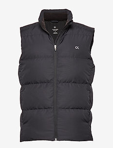 DOWN VEST - CK BLACK/GUNMETAL