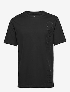 SHORT SLEEVE T-SHIRT - t-shirts - ck black