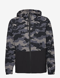 WINDJACKET - training jackets - ck black camo