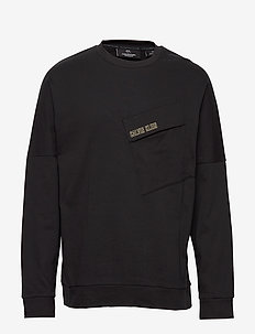 PULLOVER - basic sweatshirts - ck black