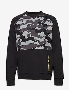 PULLOVER - sweatshirts - ck black camo