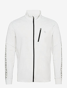 WO - FULL ZIP - overdeler - bright white
