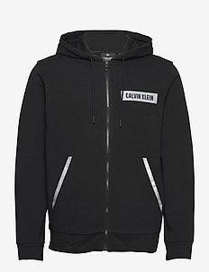 PW - FZ HOODIE - basic-sweatshirts - ck black