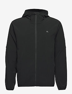 WO - MIX FABRIC WINDJACKET - sportsjakker - ck black
