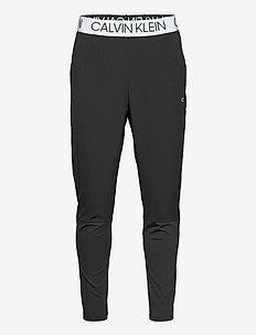 WO - MIX FABRIC PANT - spodnie treningowe - ck black