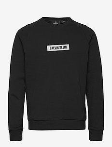 PW - PULLOVER - basic-sweatshirts - ck black