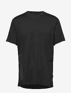 SHORT SLEEVE T-SHIRT - t-shirts - ck black/ck black/color reflec