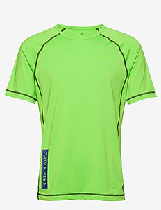 SHORT SLEEVE T-SHIRT - sports tops - green flash/green flash/majoli