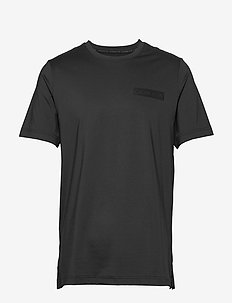 SHORT SLEEVE T-SHIRT - t-shirts - ck black/ck black