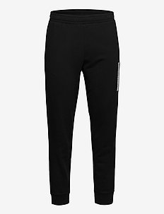 KNIT PANTS - trainingsbroek - ck black/bright white
