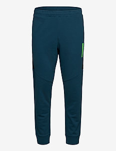KNIT PANTS - sweatpants - majolica blue/ck black/green f
