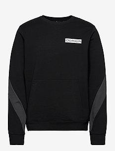 PULLOVER - basic sweatshirts - ck black/gunmetal/ck black/bri