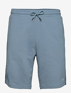 PW - 9in Knit Short - casual shorts - blue ivy