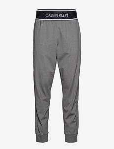 KNIT PANTS - MED GREY HTR