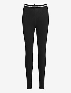 WO - COTTON ELASTANE TIGHT - leggings - ck black