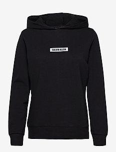 HOODIE - hoodies - ck black