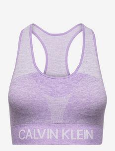 WO - Seamless Medium Support Bra - sport bras: medium support - purple heather