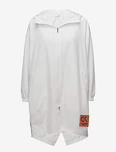LW COAT - parkatakit - bright white