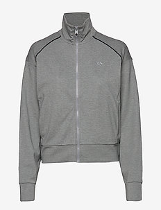 FZ JACKET - sweatshirts - medium grey heather