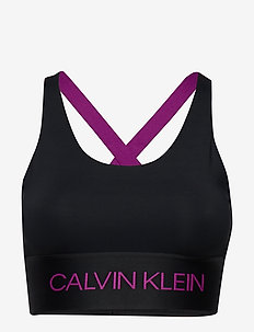 MEDIUM SUPPORT BRA - sport bras: medium - ck black