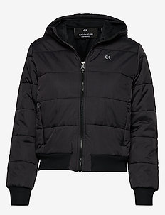 LIGHT WEIGHT PADDED JACKET - CK BLACK/SILVER