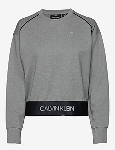 PULLOVER - MEDIUM GREY HEATHER
