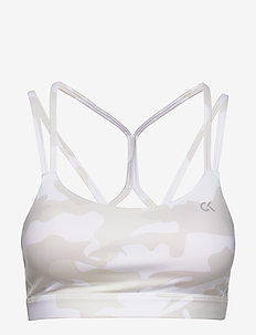 MEDIUM SUPPORT BRA - bright white camo
