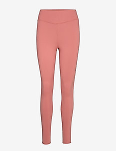 BRUSHED FULL LENGTH TIGHT - DUSTY PINK