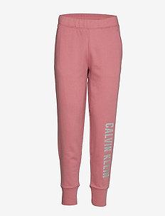 KNIT PANTS - dusty pink