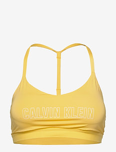 LOW SUPPORT SPORTS BRA - CYBER YELLOW