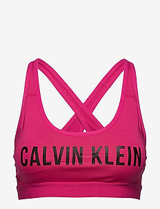 LOW SUPPORT SPORTS BRA - sort bras:high - beetroot purple