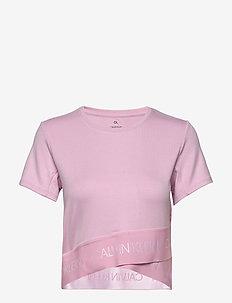 MMF KNITTED SWEATSHIRT - pink nectar