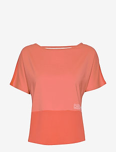 SHORT SLEEVE T-SHIRT - t-shirty - hot coral