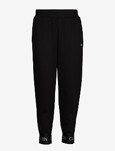 KNIT PANTS - spodnie treningowe - ck black