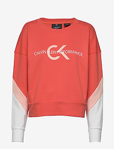 PULLOVER - sweatshirts - hot coral