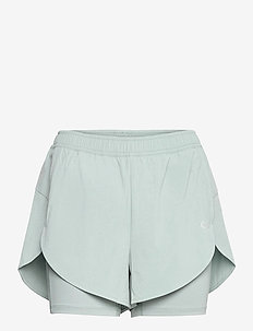 WO - WOVEN SHORTS - treenishortsit - blushing green