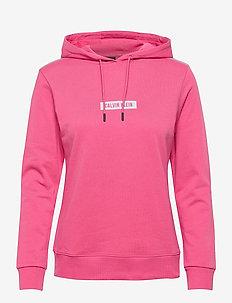 PW - HOODIE - kapuzenpullover - city pink